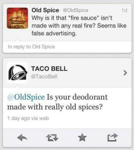 oldspice and tacobell